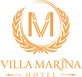 The hotel Villa Marina